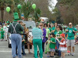 St. Patrick's Day Parade Hilton Head