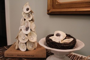 Oyster Shell Christmas tree